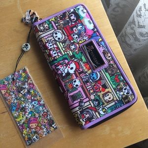 Tokidoki Roma Wallet Unicorno Purple NWT